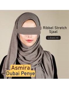 Sjaal Ribbel Stretch Premium