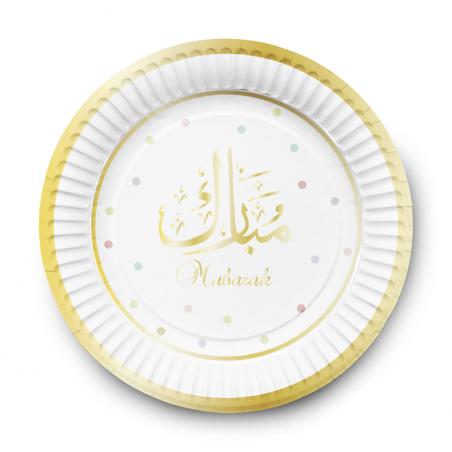 Dessert plates Mubarak (6pk)