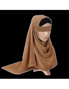 Jersey Sjaal Ribbel