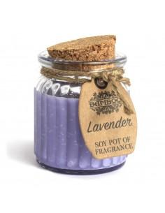 Soja Geurkaars - Lavendel