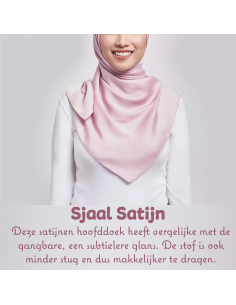 Sjaal Satijn