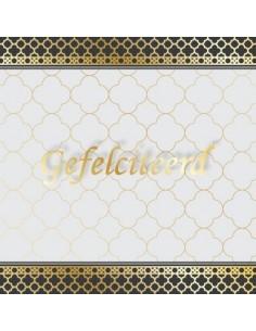Wenskaart Felicitatie -...
