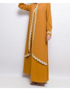 Abaya Gouden Kant