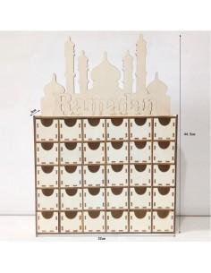 Houten Ramadankalender...