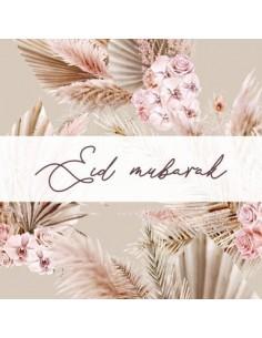 Greeting card Eid - Bohemian