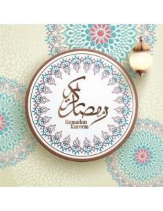 Wenskaart Ramadan Lampion