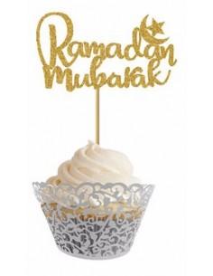 "Cupcake prikkers ""Ramadan..."