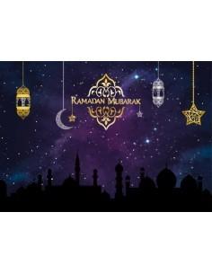 Placemats - Ramadan paars...