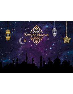 Placemats - Ramadan purple...