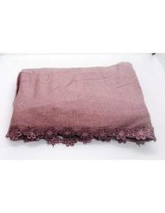 Jersey Sjaal met Bloemetjes