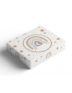 Pastry box Eid - Rainbow