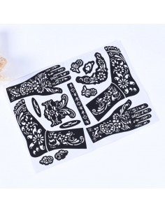 Henna Stencil Voeten
