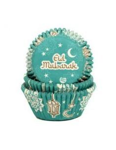 Baking cups Eid Mubarak -...