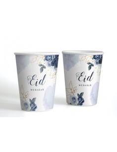 Cups - Eid Peony blue (6 pcs)