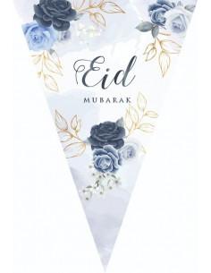 Bunting Eid Peony blue