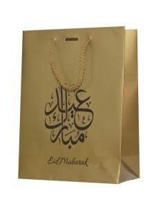 Eid Gift Bag Gold