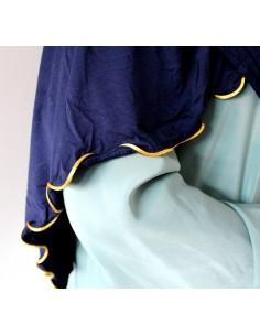 Jersey Sjaal met Gouden Rand