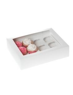 Cupcake doos (voor 12...