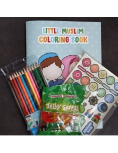 Gift pack coloring book