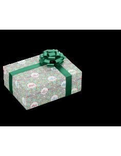 Gift wrap - Eid Mosaic green