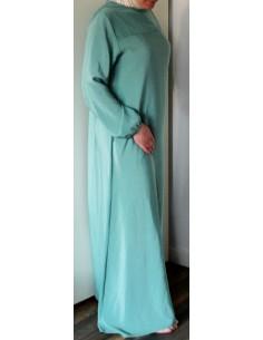 Jilbab Soepel - Rits Achter