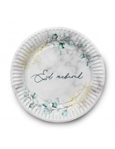 Plates - Eid Mubarak Marble...