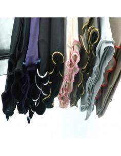 Jersey Sjaal met Steentjes...