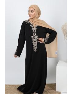 kaftan Zahra - zwart