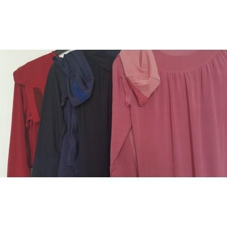 Abaya meisjes met amira hoofddoek