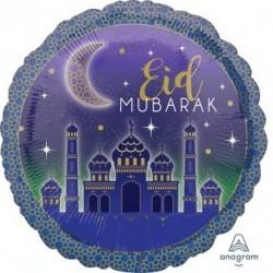 Folieballon Eid Mubarak