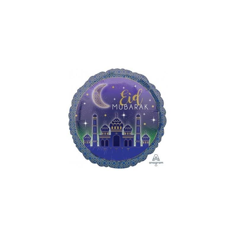 Foil Balloon Eid Mubarak