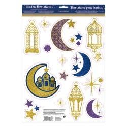 Window Decoration Glitter Eid/Ramadan