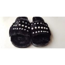 parel slippers (sloffen)