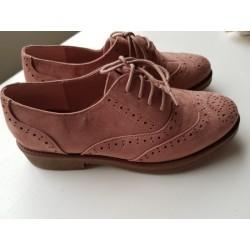 veterschoenen oud-roze