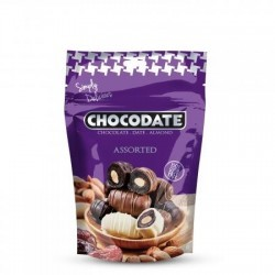 Chocodates - assorted 250 gr