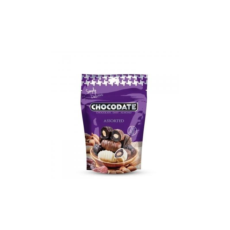 Chocodates - assorted 250 gr