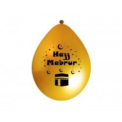 Hadj Balloons Gold  (5 pack)