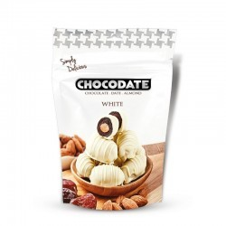 Chocodates - white