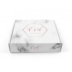 Boîte à gâteau Eid - Marbre