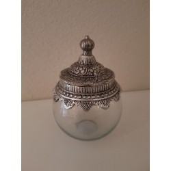 Glazen pot 'Laila' - small