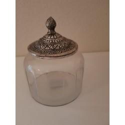 Glazen pot 'Maysa' - medium