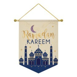 Ramadan Kareem canvas Banner