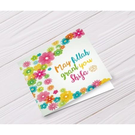 Greeting card Get well soon - Shifa