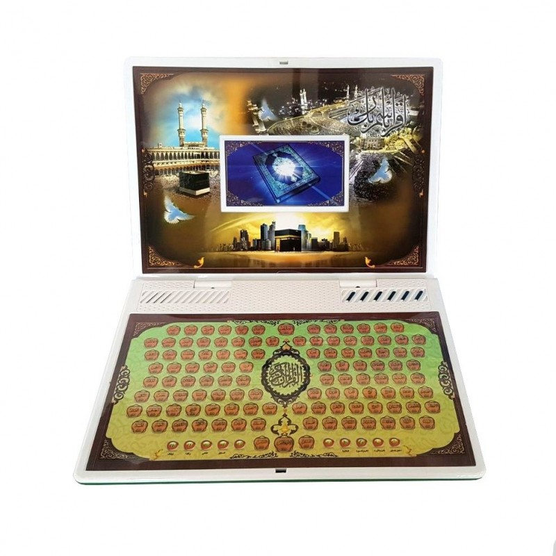 Arabische Laptop met Koran