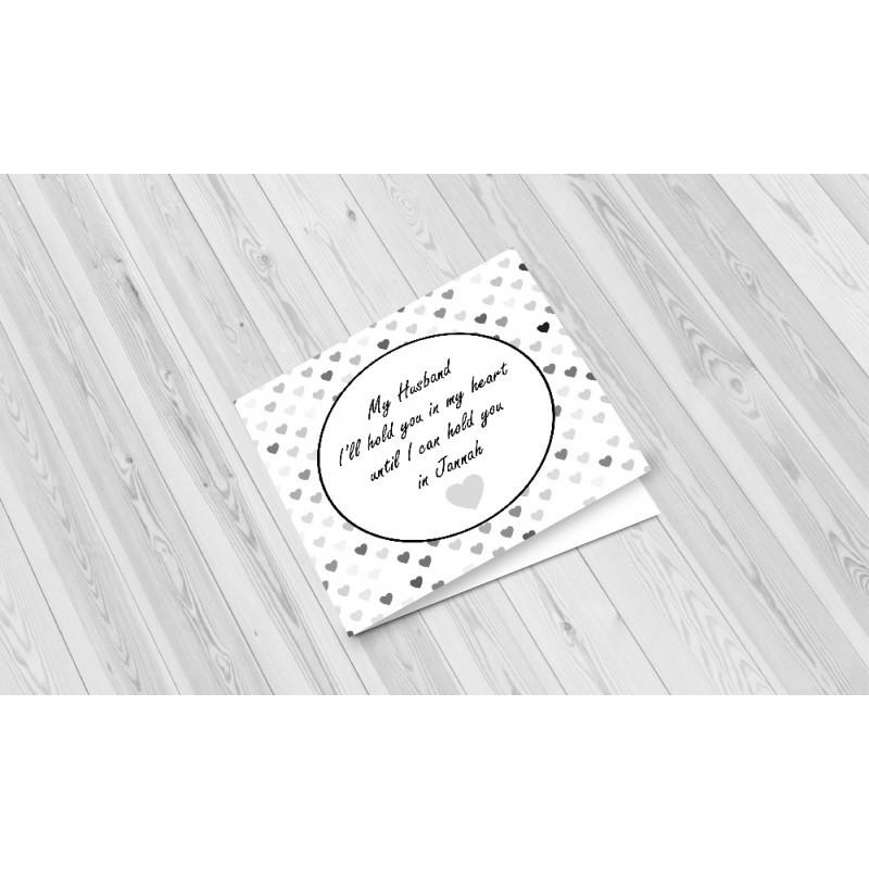 Greeting Card My Husband