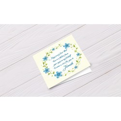 Greeting Card May every Tear