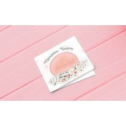 Greeting Card Ramadan Kareem Pastel
