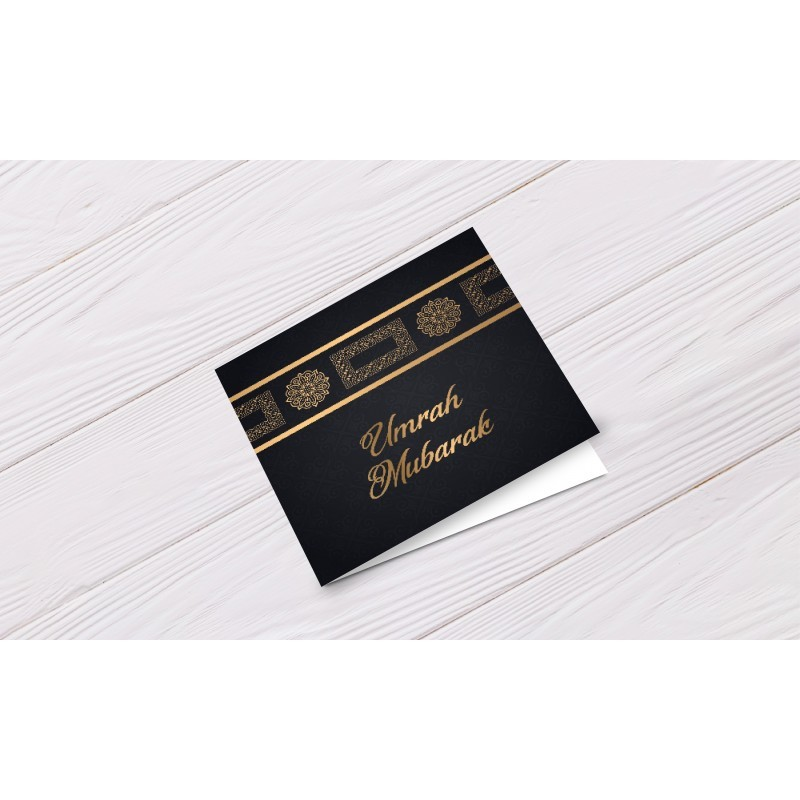 Greeting Card Umrah Mubarak