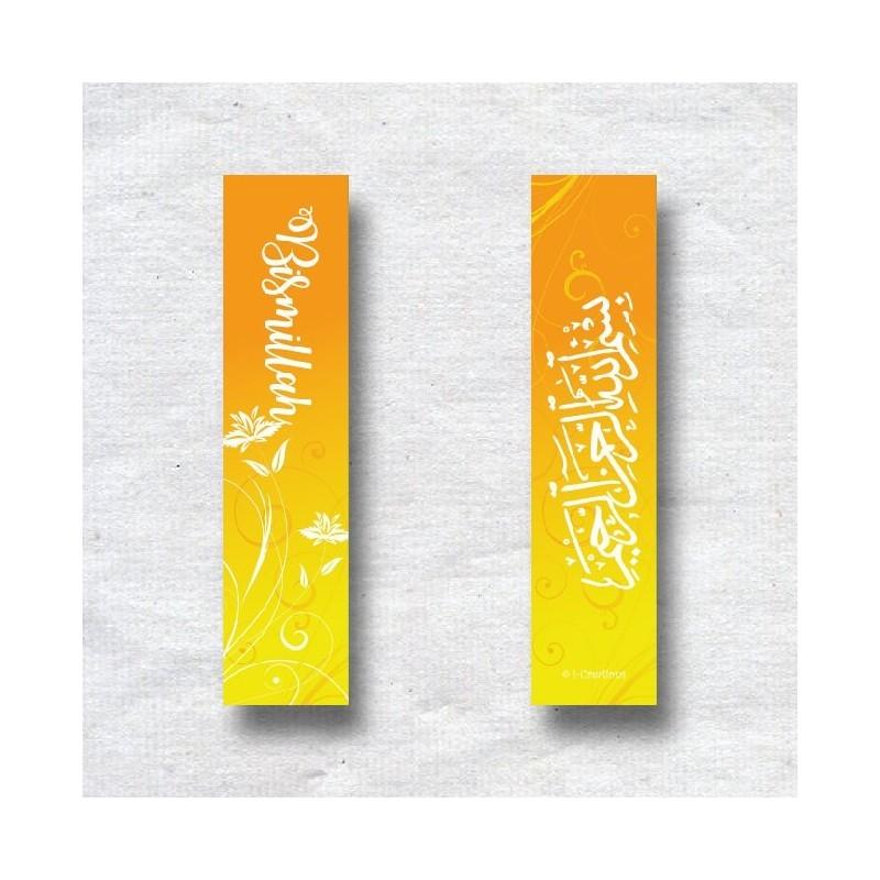 Marque page Bismillah Yellow