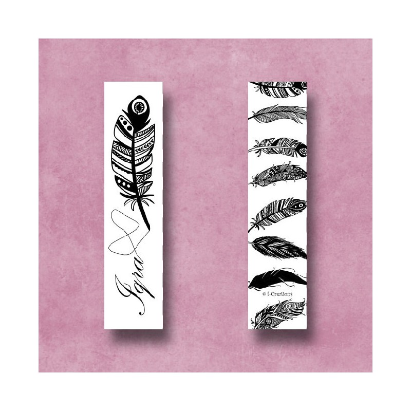 Marque page Iqra Feather